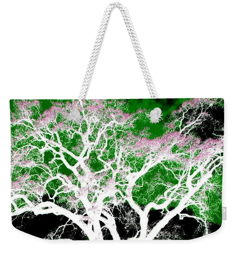 Impressions Weekender Tote Bag featuring the digital art Impressions 1 by Will Borden