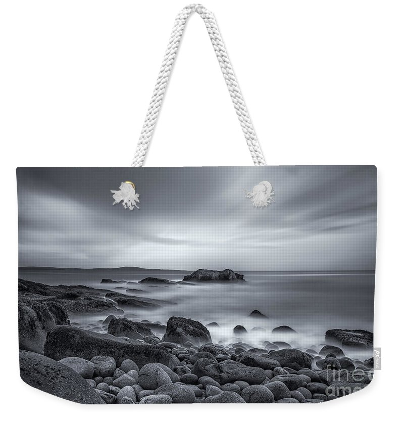 Acadia Weekender Tote Bag featuring the photograph In A Tidal Wave Of Mystery by Evelina Kremsdorf