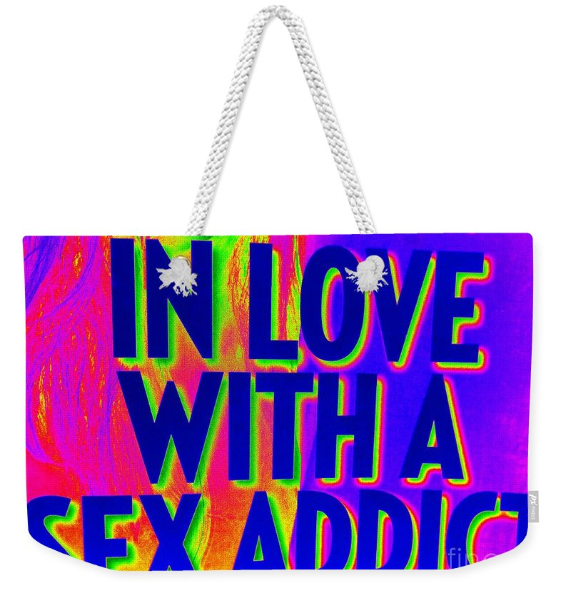 Pop Art Weekender Tote Bag featuring the photograph In Love by Ed Weidman