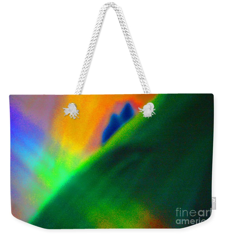 First Star Art Weekender Tote Bag featuring the mixed media In Love by First Star Art