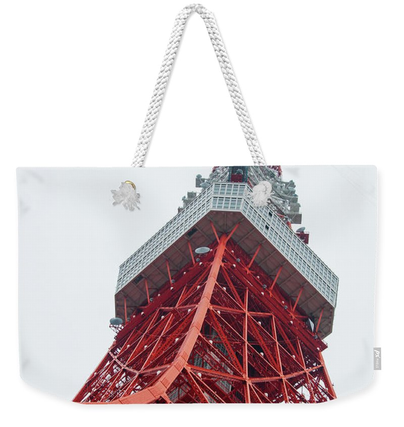 Guy Whiteley Photography Weekender Tote Bag featuring the photograph In The Clouds by Guy Whiteley