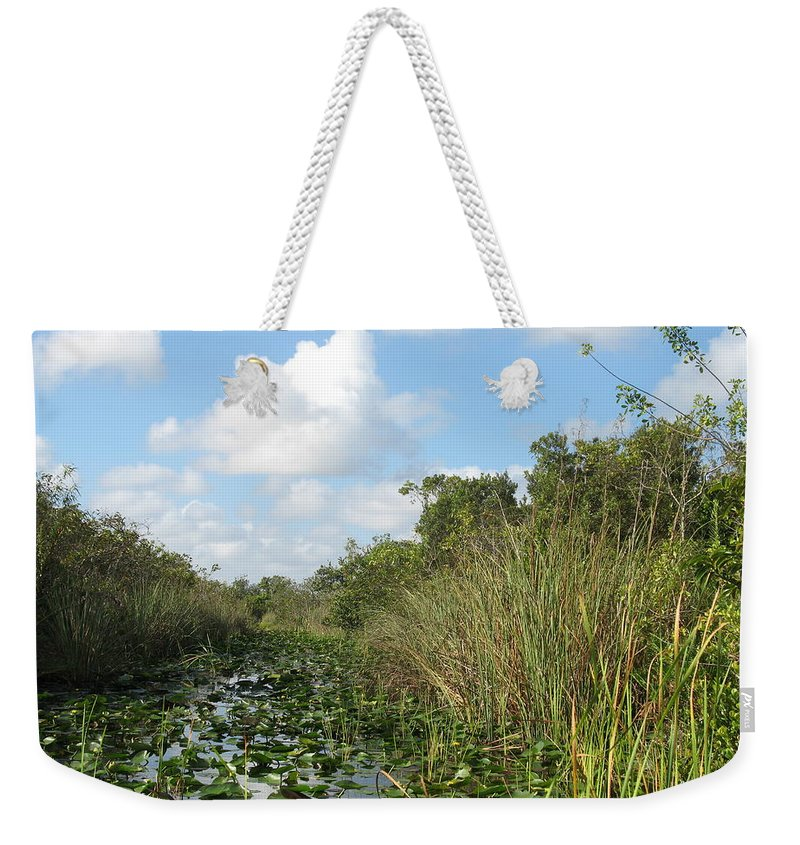 Everglades Weekender Tote Bag featuring the photograph In The Everglades by Christiane Schulze Art And Photography