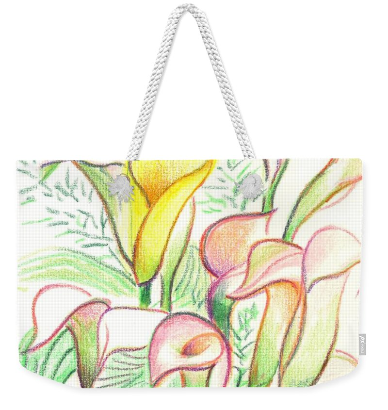 In The Golden Afternoon Weekender Tote Bag featuring the painting In The Golden Afternoon by Kip DeVore