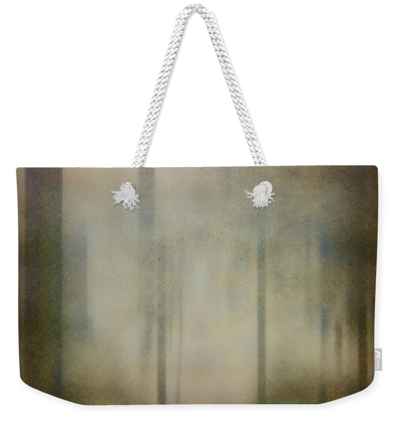 Tree Weekender Tote Bag featuring the photograph In The Woods by Margie Hurwich