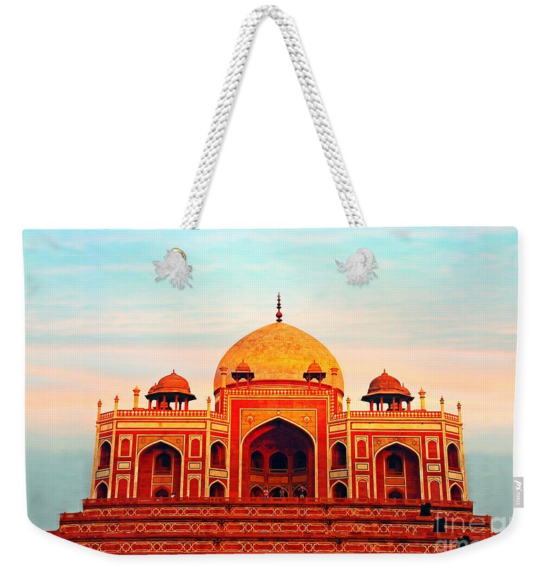 India Weekender Tote Bag featuring the photograph India 7 by Ben Yassa