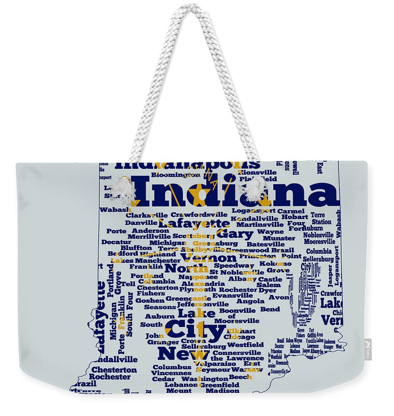 Crossroads Of The World Weekender Tote Bags