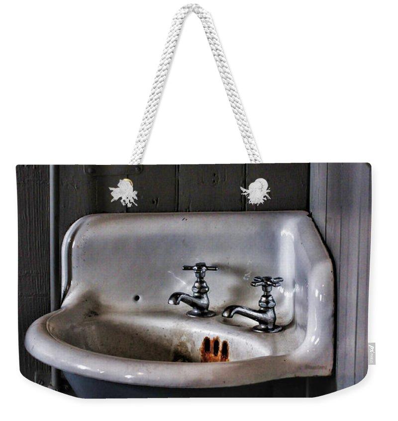 Paul Ward Weekender Tote Bag featuring the photograph Indoor Plumbing by Paul Ward