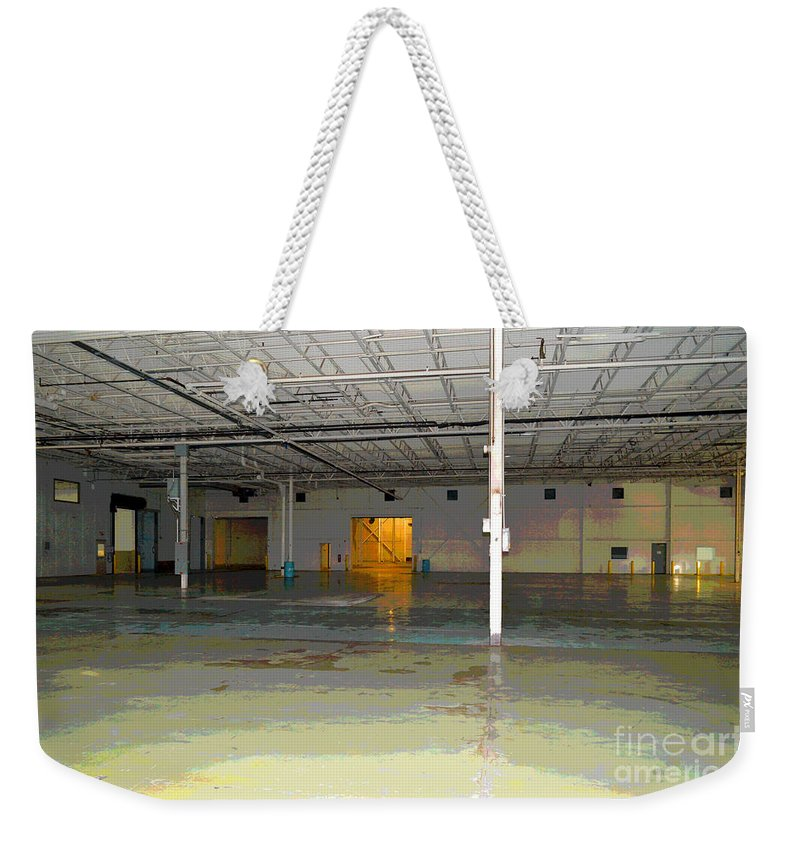 Industrial Weekender Tote Bag featuring the photograph Industrial 4 by Alys Caviness-Gober