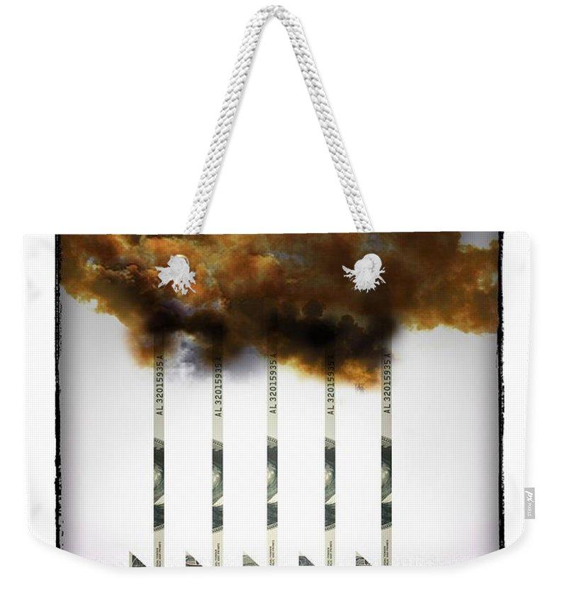 Industry Weekender Tote Bag featuring the digital art Industry by Chris Van Es