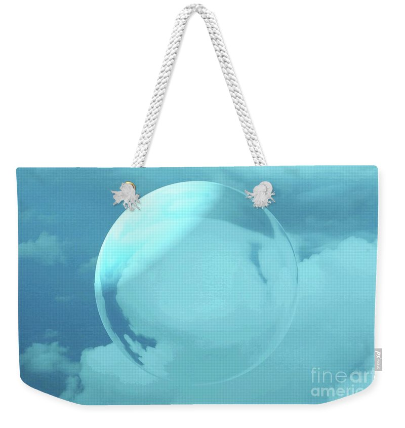 Sky Weekender Tote Bag featuring the photograph Infinity by Kathleen Struckle