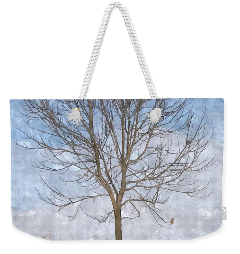 Tree Weekender Tote Bag featuring the photograph Inspirations 3 by Sara Raber