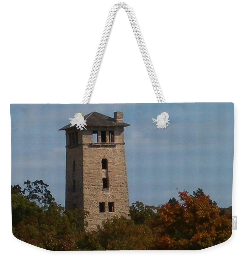 Water Tower Weekender Tote Bag featuring the photograph Inspirations 5 by Sara Raber