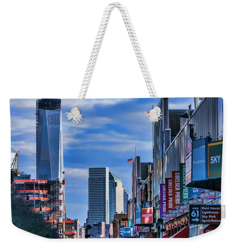 1wtc Weekender Tote Bag featuring the photograph Inspiring Chelsea by S Paul Sahm