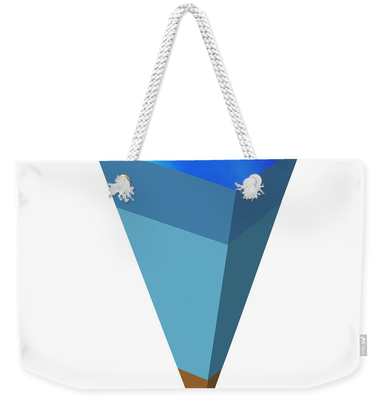 Astronomical Weekender Tote Bag featuring the photograph Interior Of Uranus by Monica Schroeder / Science Source