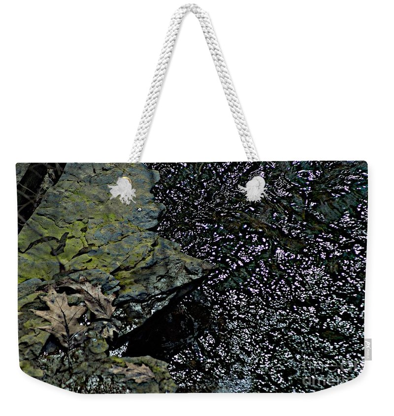 Creek Weekender Tote Bag featuring the photograph Interlude by Joseph Yarbrough
