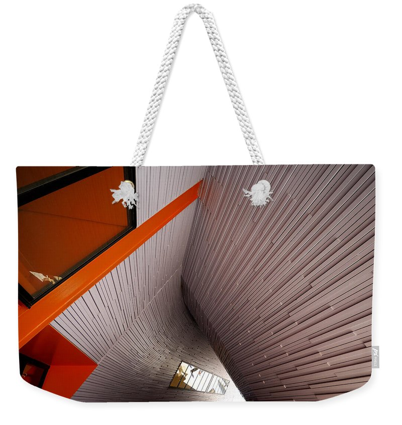 Architecture Weekender Tote Bag featuring the photograph Into The Abyss by Wayne Sherriff