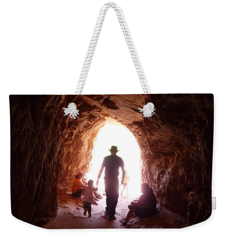 Weekender Tote Bag featuring the photograph Into The Sun by Katerina Naumenko