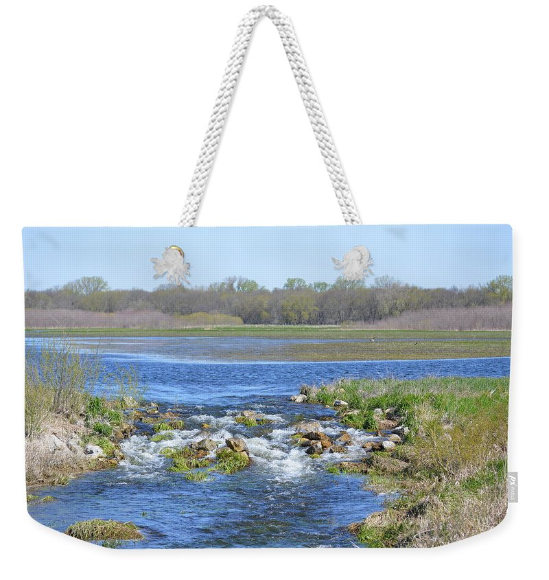 Iowa Weekender Tote Bag featuring the photograph Iowa Has Its Beauty by Bonfire Photography
