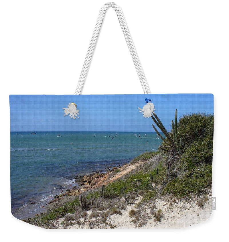 Isla Weekender Tote Bag featuring the photograph Isla Cubagua by Voros Edit