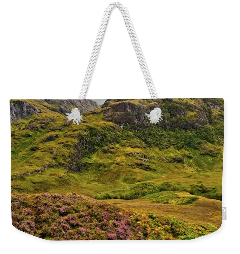 Landscape Weekender Tote Bag featuring the photograph Isle Of Skye by Marcia Colelli
