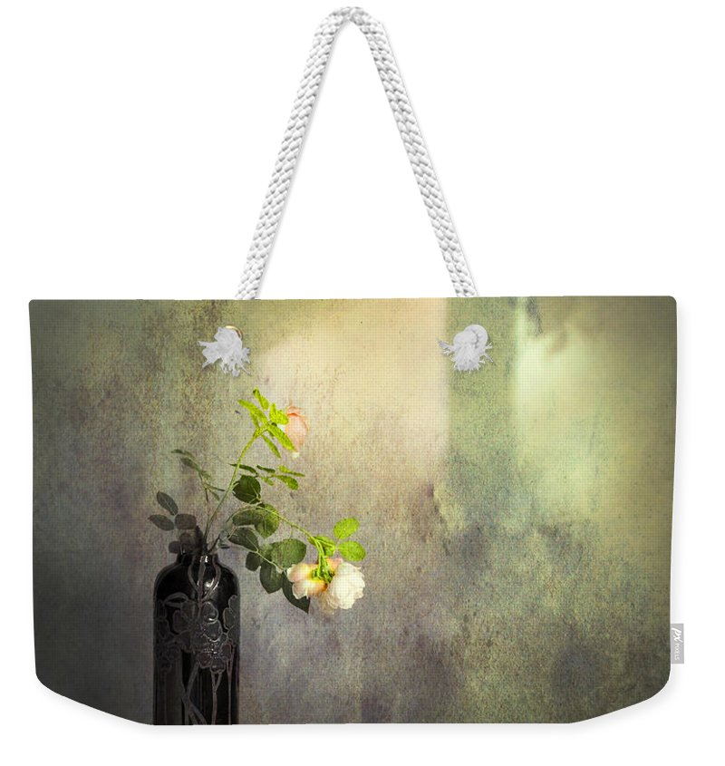 Vintage Still Life Weekender Tote Bag featuring the photograph Isn't It Romantic by Theresa Tahara