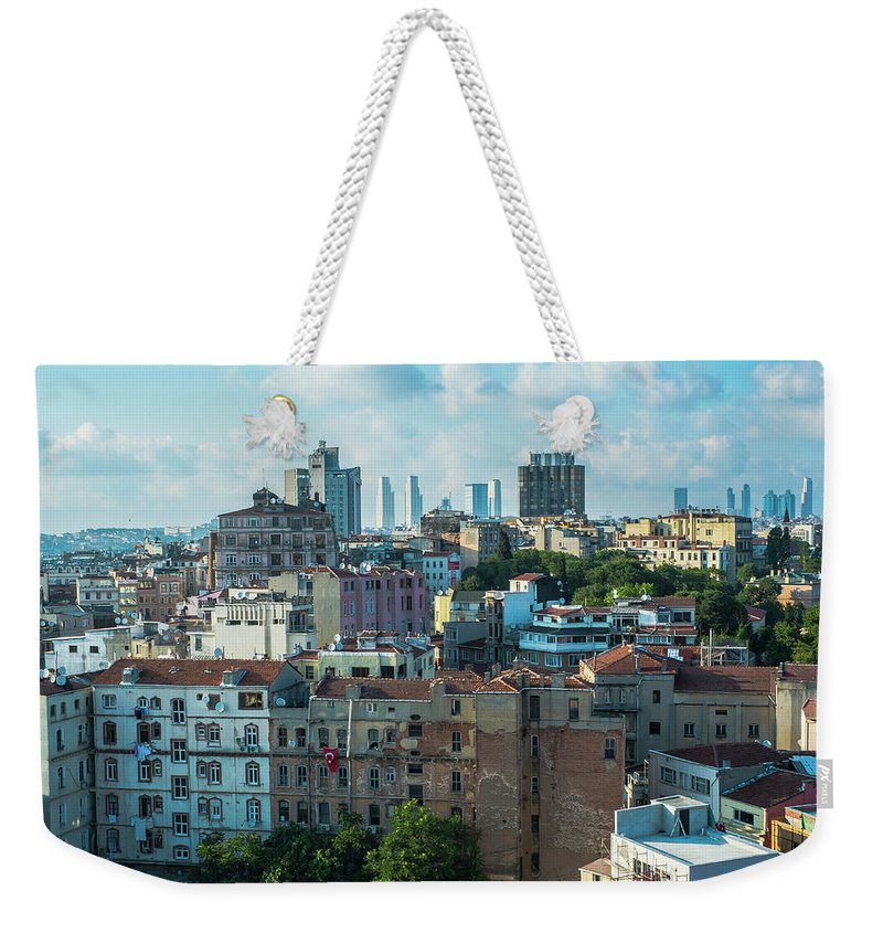 Tranquility Weekender Tote Bag featuring the photograph Istanbul by Picture By Hamoon Nasiri