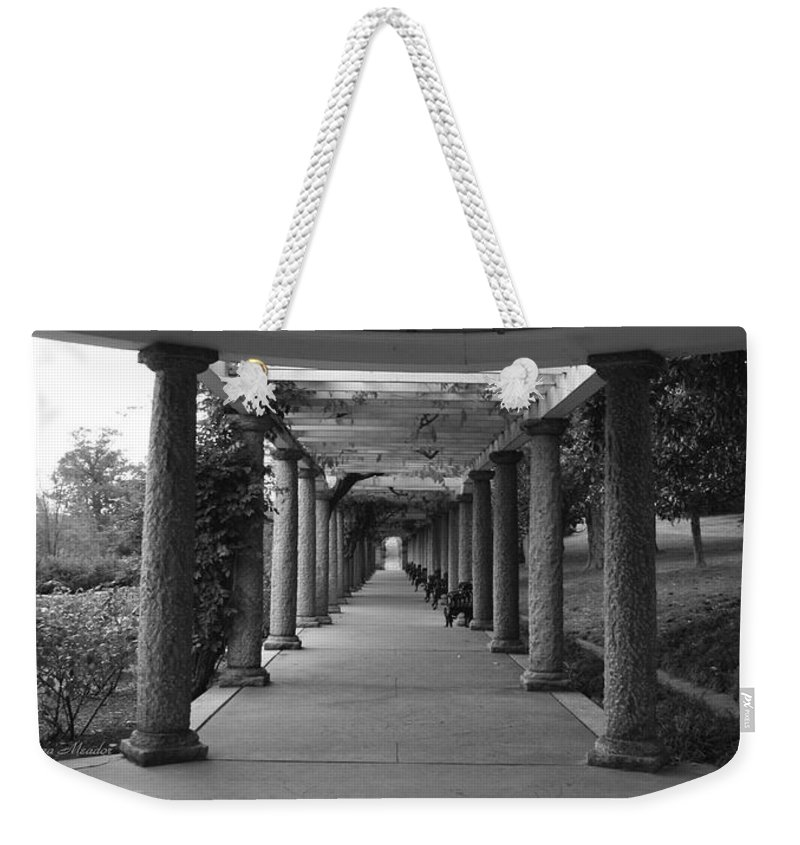 Maymont Weekender Tote Bag featuring the photograph Italian Garden by Tina Meador