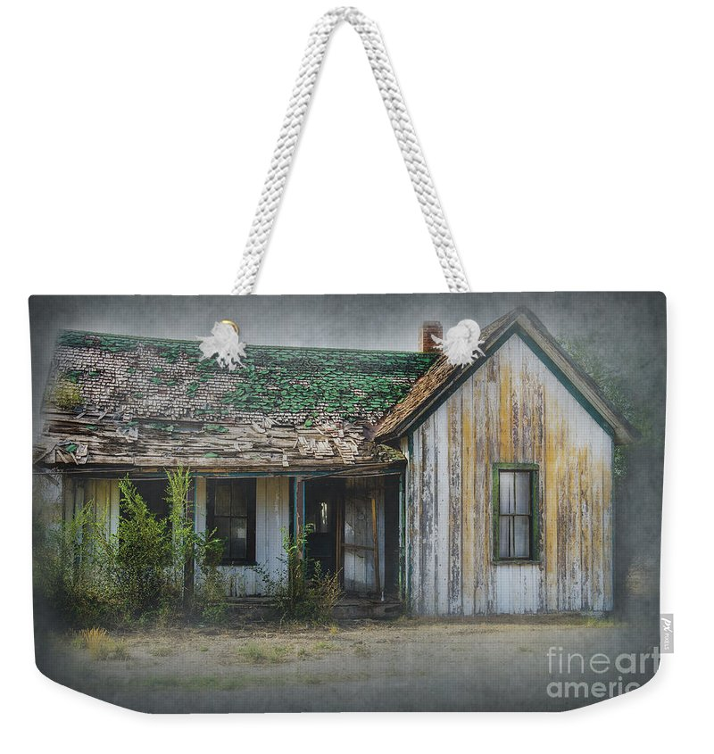 Architecture Weekender Tote Bag featuring the photograph It's A Long Story by Sandra Bronstein