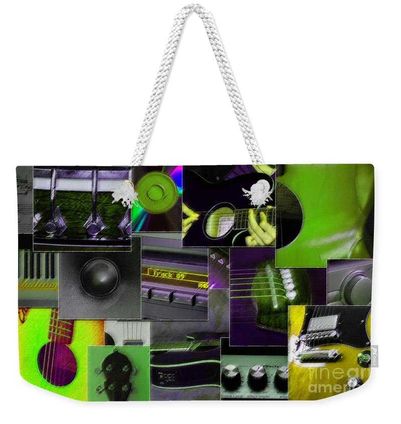 Music Weekender Tote Bag featuring the photograph It's All About Music by Randi Grace Nilsberg