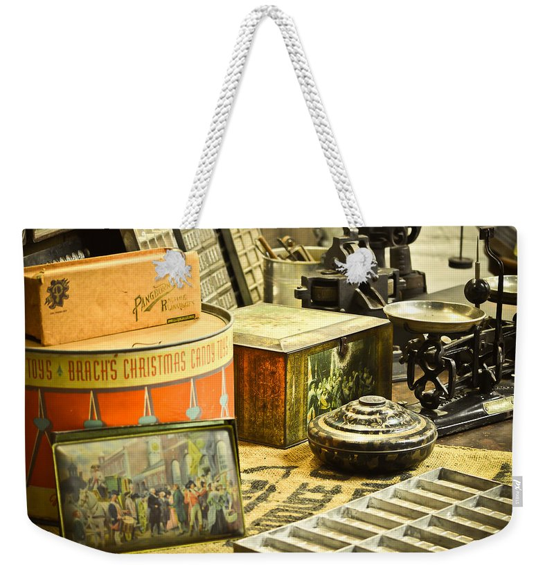 Candy Weekender Tote Bag featuring the mixed media It's All About The Candy by Trish Tritz
