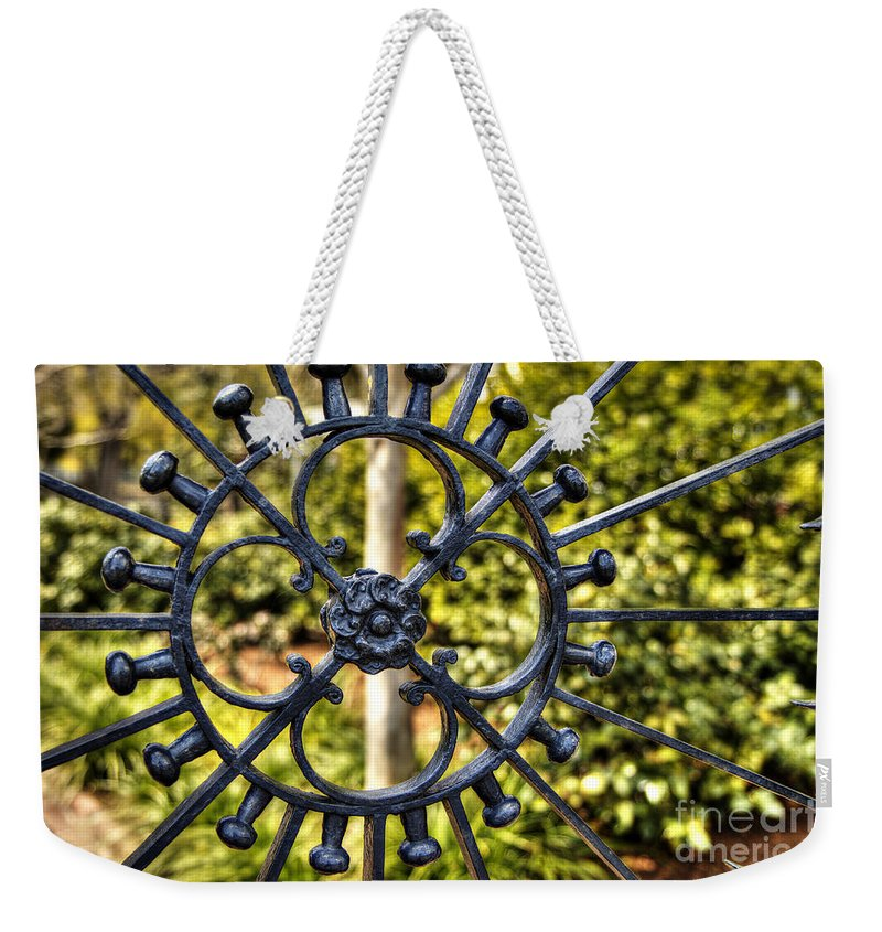 Door Weekender Tote Bag featuring the photograph It's In The Details by Emily Kay