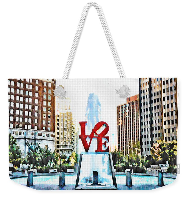 It's Only Love Weekender Tote Bag featuring the photograph It's Only Love by Bill Cannon