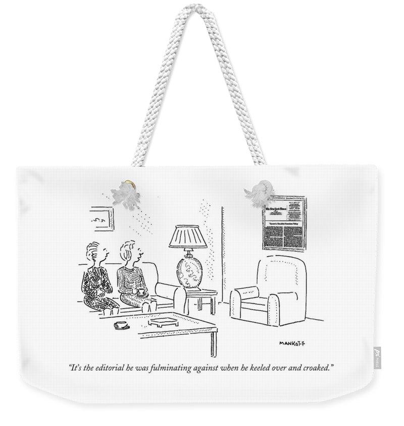 Time Frame Drawings Weekender Tote Bags