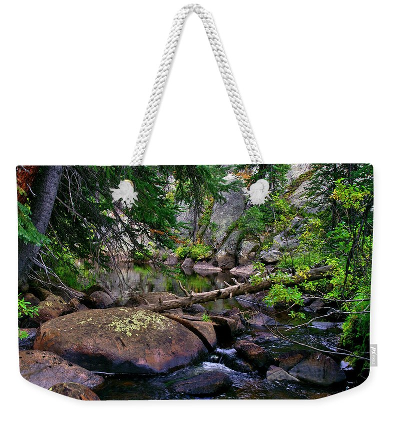 Ivanhoe Serenity Weekender Tote Bag featuring the photograph Ivanhoe Serenity by Jeremy Rhoades