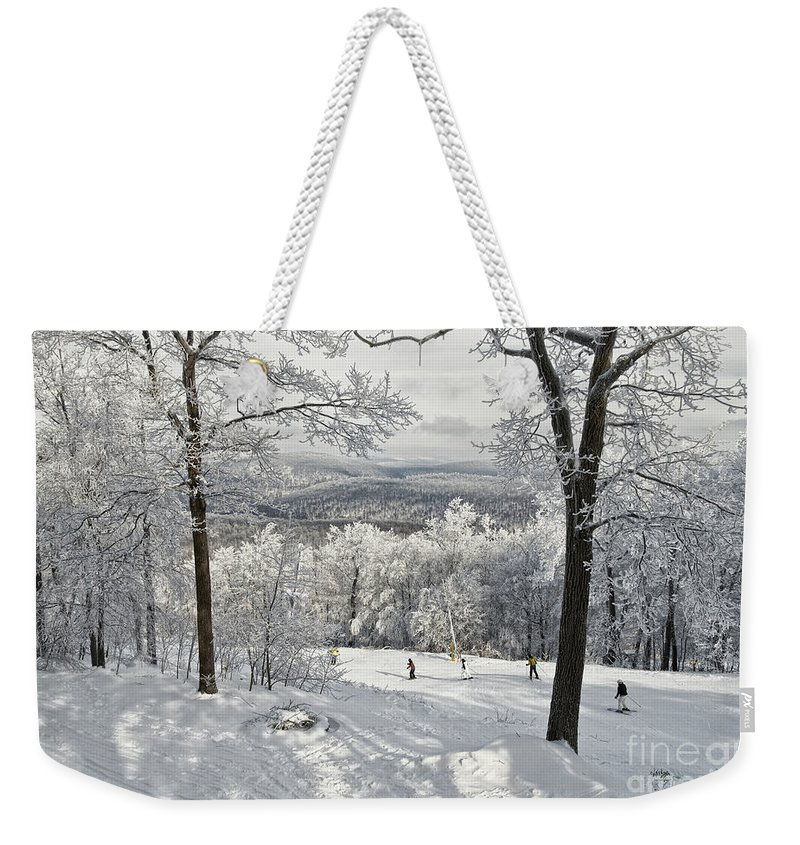 Ski Weekender Tote Bag featuring the photograph Jack Rabbit by Lois Bryan