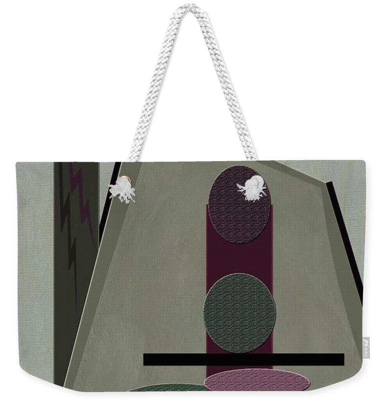 Abstract Weekender Tote Bag featuring the photograph Jackpot by Linda Dunn