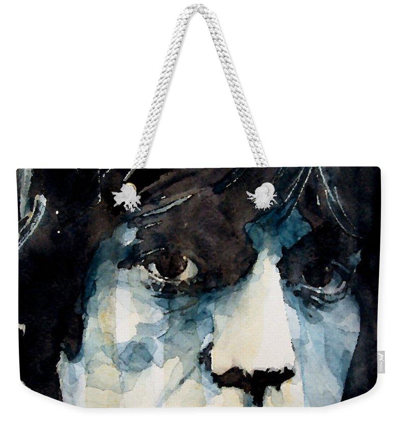 Mick Jagger Weekender Tote Bags