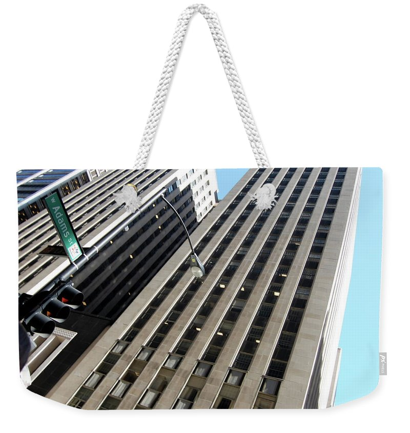 Architecture Weekender Tote Bag featuring the photograph Jammer Architecture 004 by First Star Art