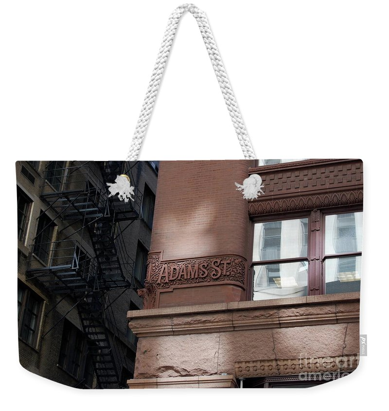 Architecture Weekender Tote Bag featuring the photograph Jammer Architecture 005 by First Star Art