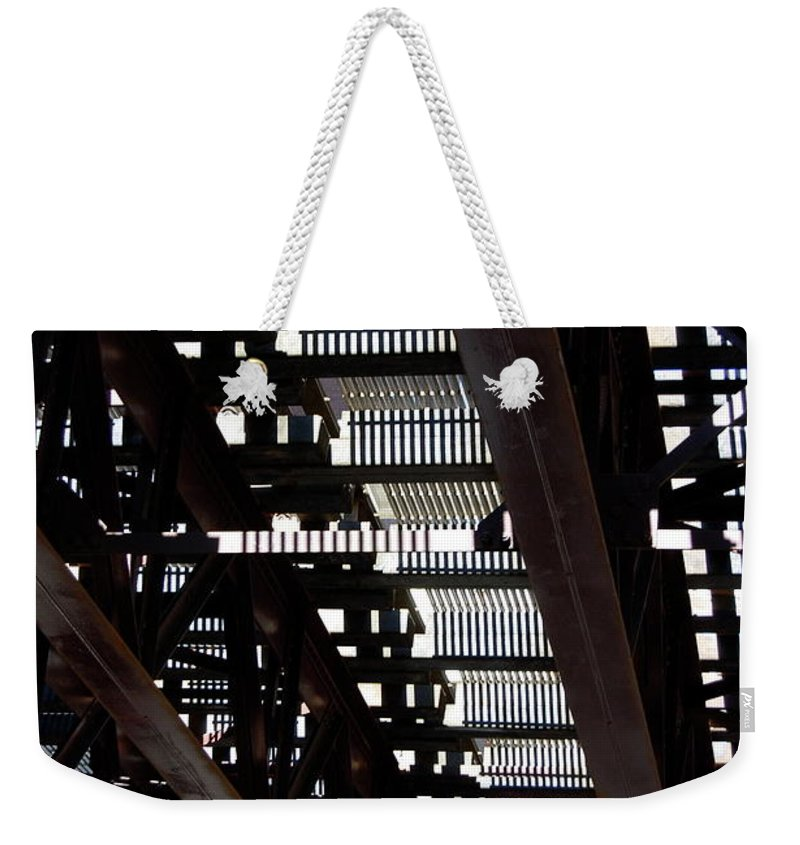 Architecture Weekender Tote Bag featuring the photograph Jammer Architecture 008 by First Star Art