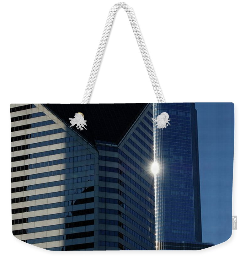 Architecture Weekender Tote Bag featuring the photograph Jammer Architecture 012 by First Star Art