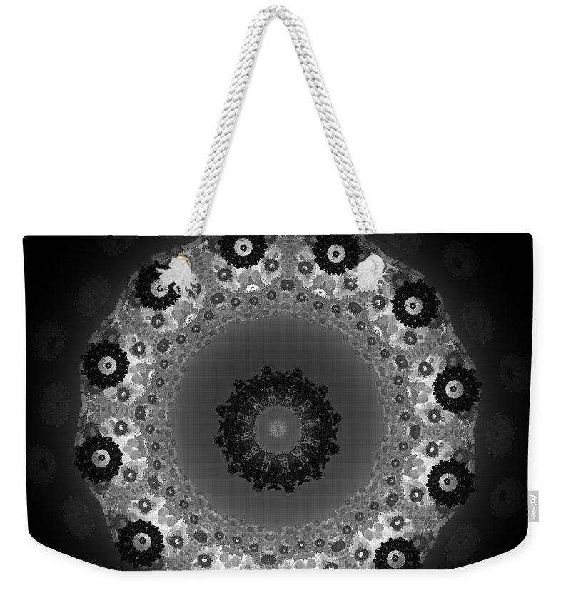First Star Art Weekender Tote Bag featuring the digital art jammer Chandelier by First Star Art