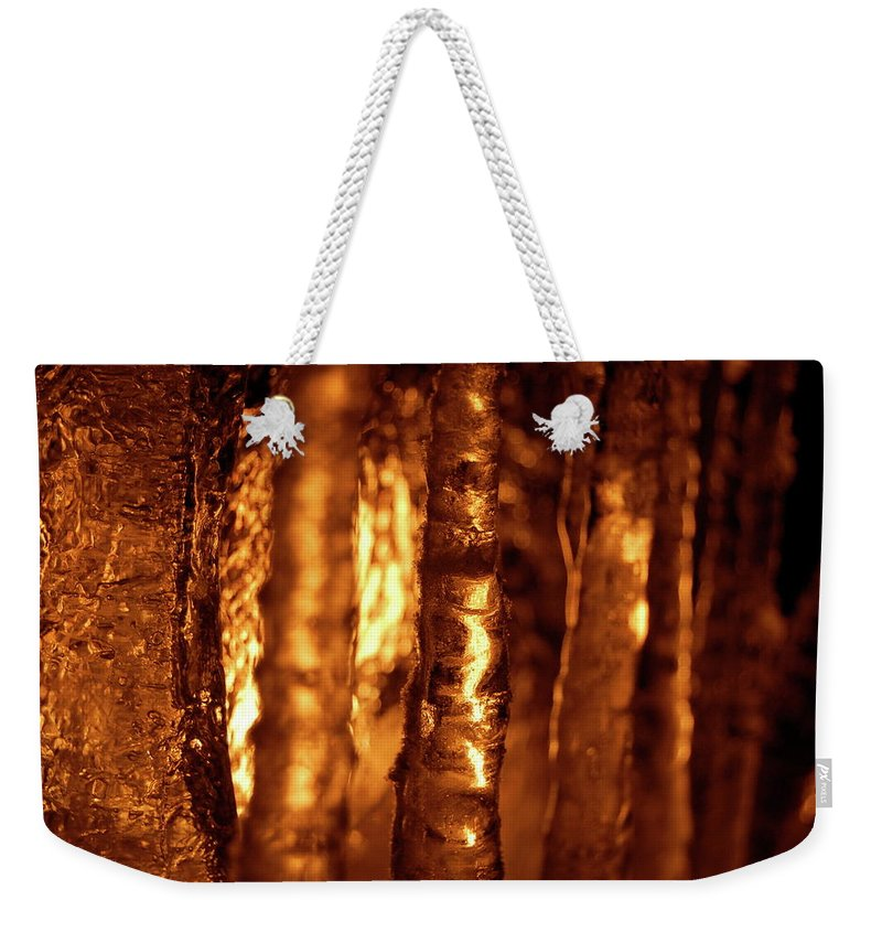 Fire And Icefire Weekender Tote Bag featuring the photograph Jammer Fire And Ice 001 by First Star Art