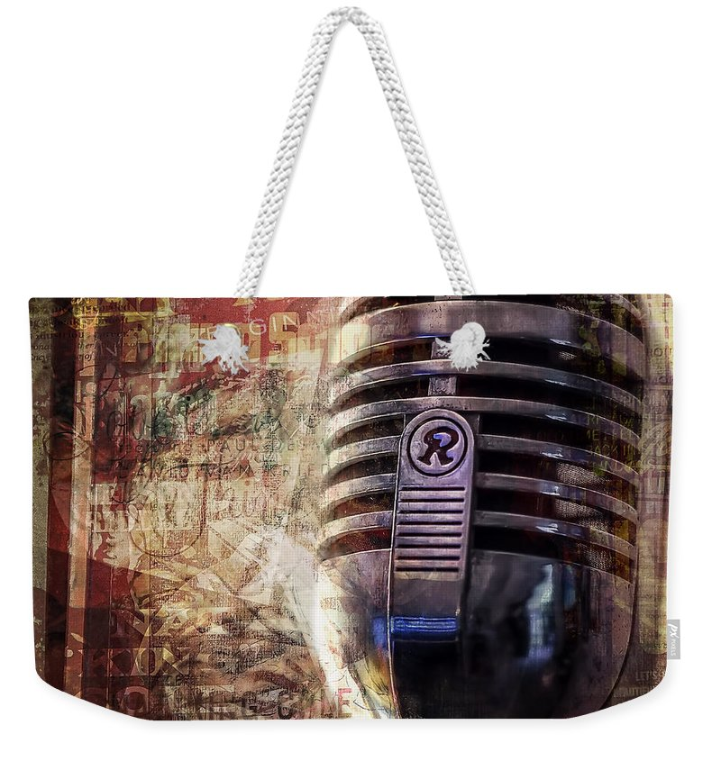 Jazz Weekender Tote Bag featuring the photograph Jazz by Scott Norris