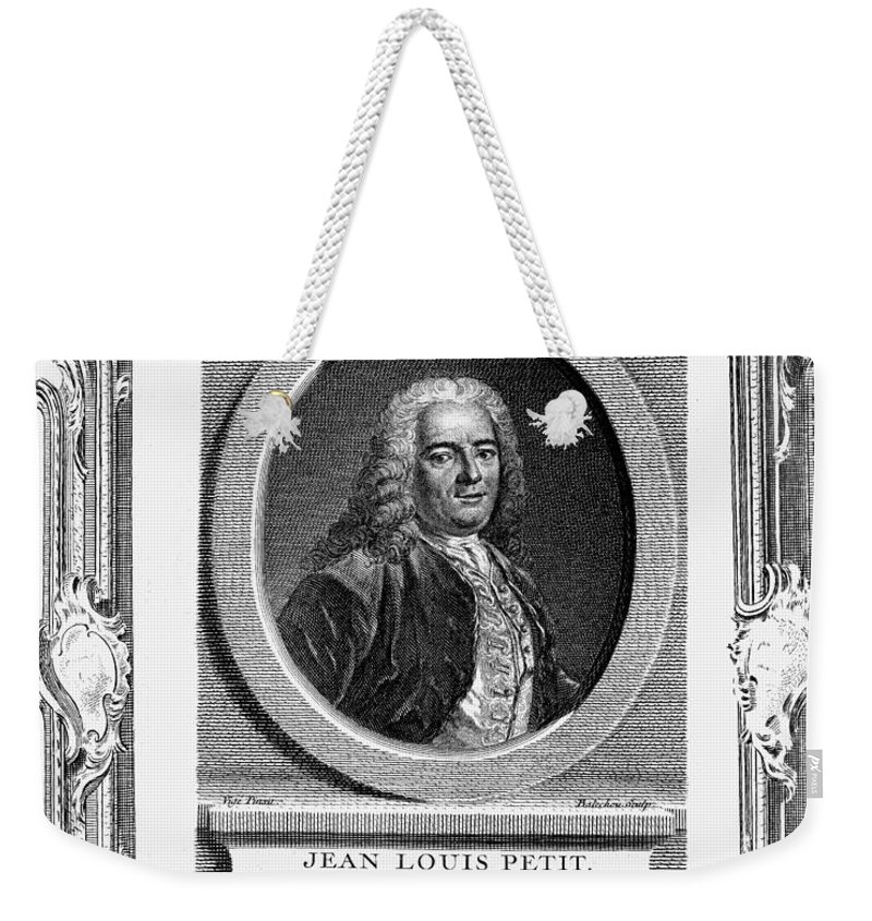 18th Century Weekender Tote Bag featuring the photograph Jean Louis Petit (1674-1750) by Granger