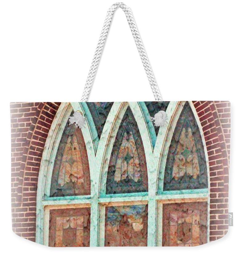 Jesus Weekender Tote Bag featuring the digital art Jeremiah 24 7 by Michelle Greene Wheeler