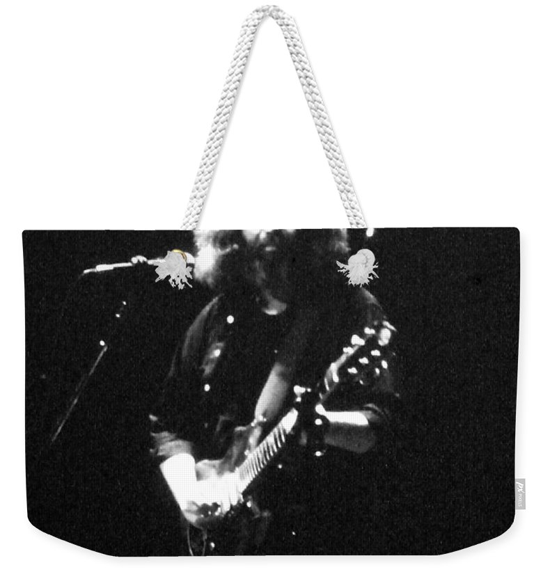 Music Weekender Tote Bag featuring the photograph The Spectrum - Grateful Dead by Susan Carella