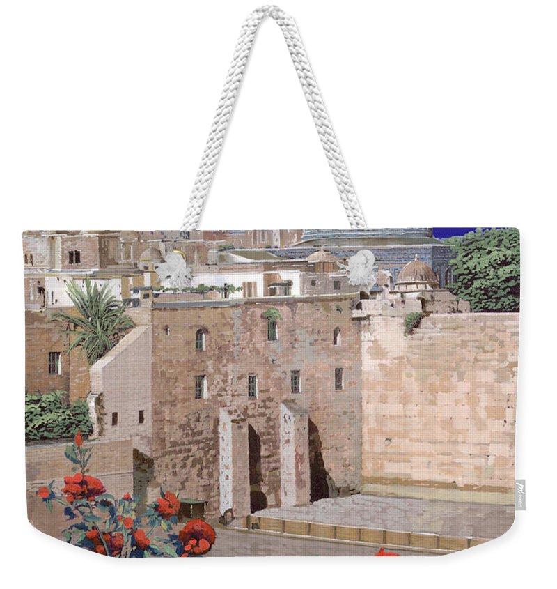 Israel Weekender Tote Bags