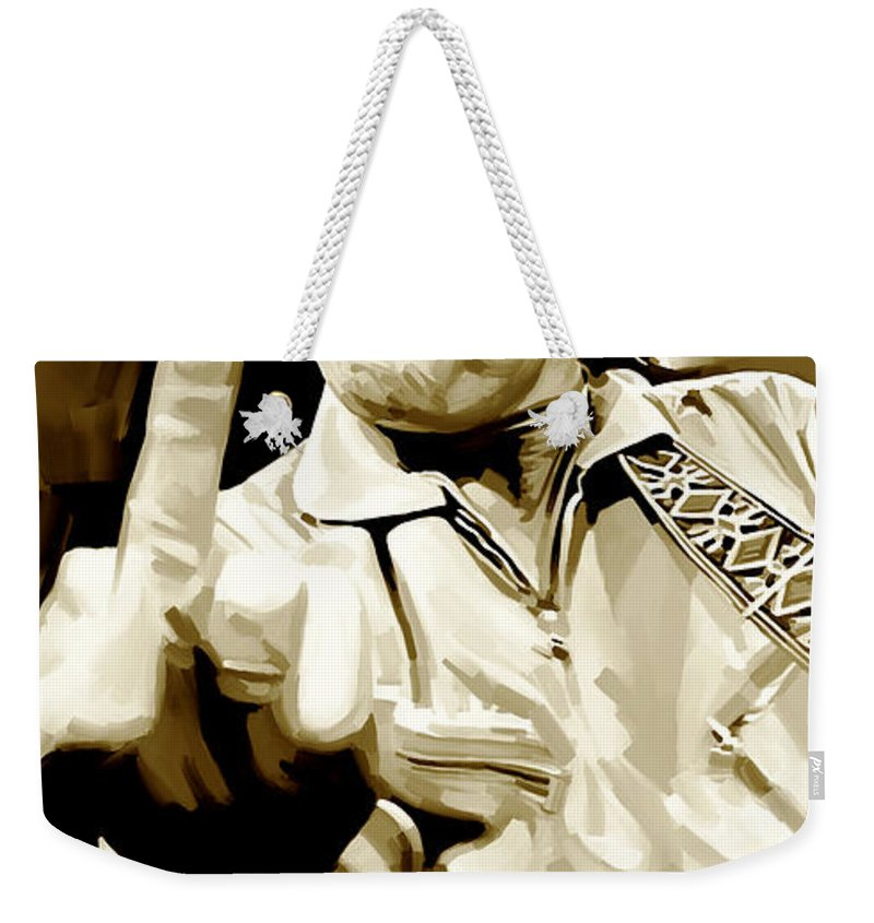 Johnny Cash Weekender Tote Bags