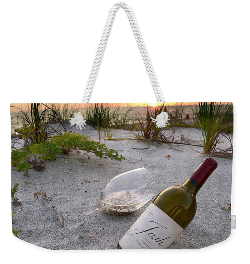 Captiva Sunset Weekender Tote Bag featuring the photograph Josh Wine by Jon Neidert